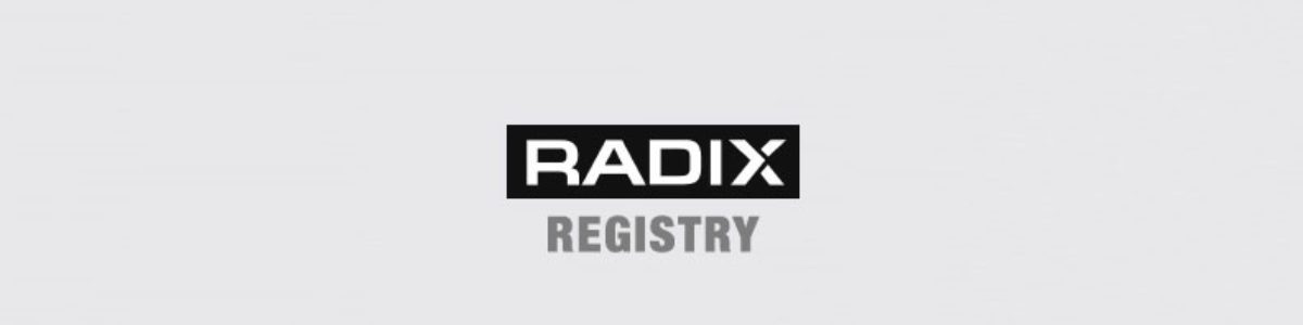 Radix Registry – Online Marketing MIS